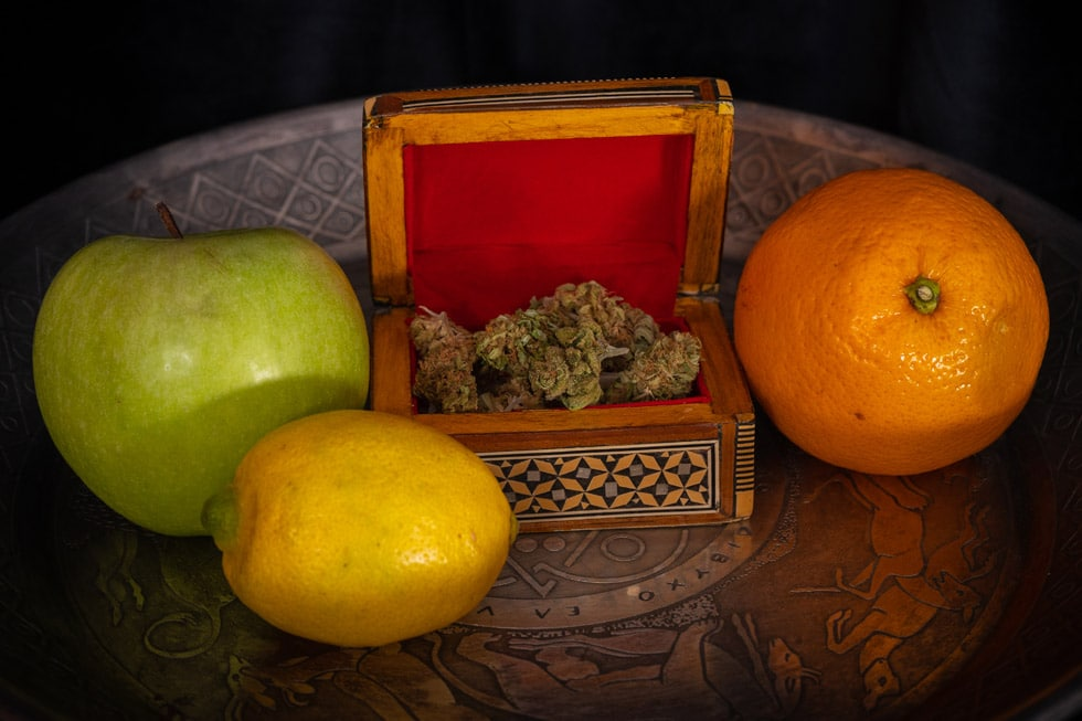 The Entourage Effect refers to the synergy that occurs when combining multiple cannabinoids and terpenes to enhance the overall pharmacologic effectiveness of the compounds, natural remedies, herbal remedies